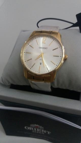 Relógio Masculino Orient Analógico Dourado
