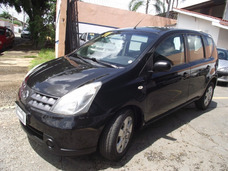 Nissan Livina 1.6 S Flex 2011 Linda Completa 4 Pneus Zero