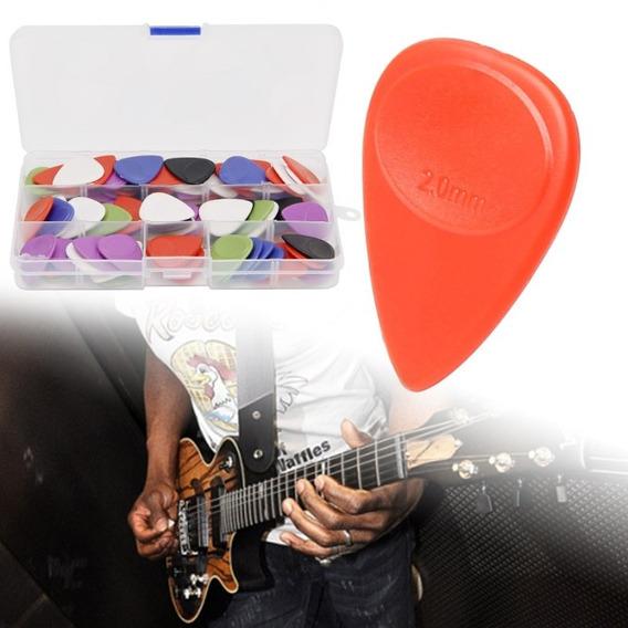 Kit 14 Palhetas 1mm - Baixo, Baixolão, Guitarra, Violão...
