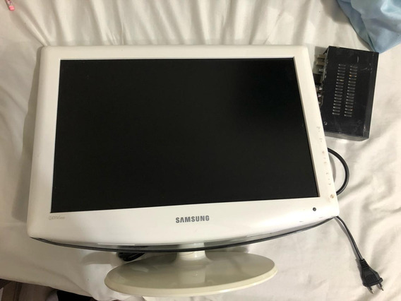 Tv Monitor Samsung Ln19r81w 19 Polegadas.