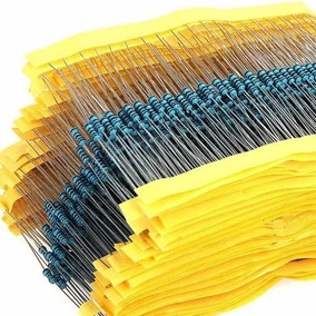 Kit 400 Resistores 1/8w 20 Valores 20 De Cada Conforme Lista