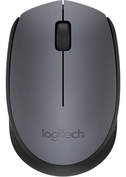 Mouse Optico Sem Fio Wireless Logitech M170 Cores