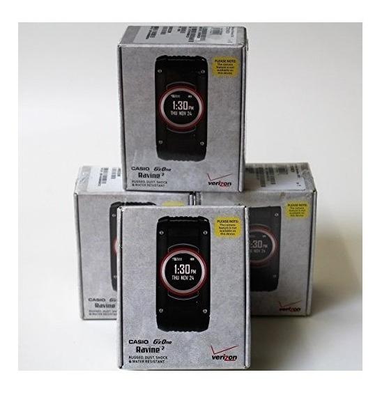 Casio Gzone Ravine 2 Sin Cámara, Negro (verizon Wireless) Si