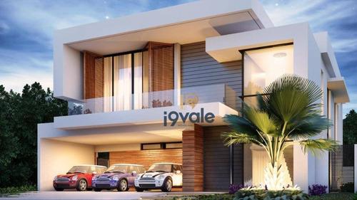 Casa De Luxo  Com 4 Dormitórios À Venda, 390 M²  Jardim Do Golfe - São José Dos Campos/sp - Ca1612