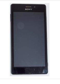 Sony Xperia M2 Aqua D2403 Preto 8gb Trincado