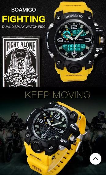 Relógio Masculino Digital Esportivo E Militar Prova D