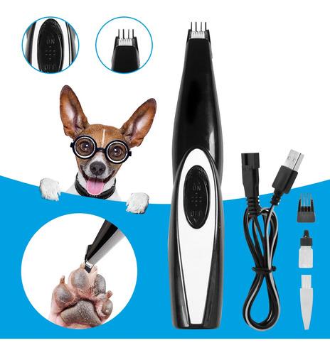 Animais De Estimação Cão Gato Tosquiadeira Elétrica Kit De