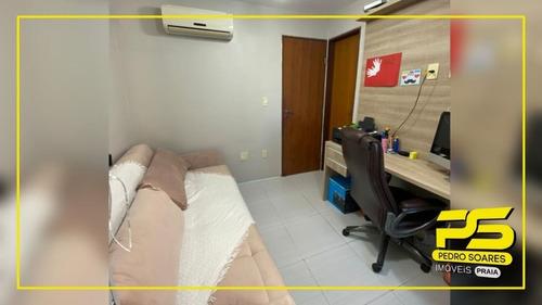Imagem 1 de 19 de Cobertura Com 4 Dormitórios À Venda, 97 M² Por R$ 480.000 - Bessa - João Pessoa/pb - Co0134