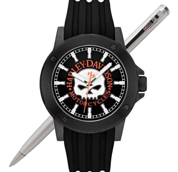 Relógio Bulova Harley Davidson Masculino Wh30466p 78a115 Nf