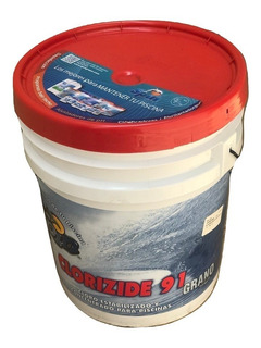 Cloro, Clorizide 91 Granulado 21kg. Spin Químico Albercas