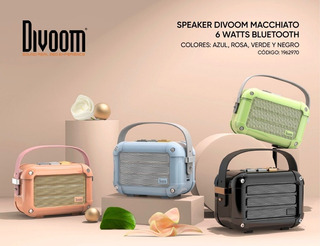 Parlante Bluetooth Speaker Divoom