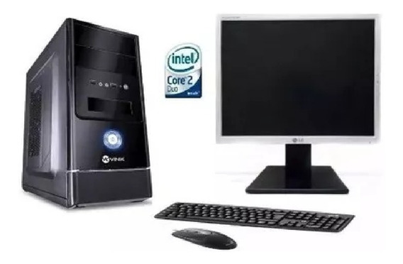 Cpu Completo Core 2 Duo 8gb Hd320gb Novo Wifi Moni17 Usado