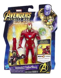 Iron Man Super Articulado Avengers End Game Hasbro 15 Cm