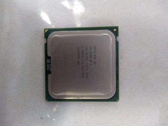Processador Intel 04 Celeron D 331 Usado Hnd