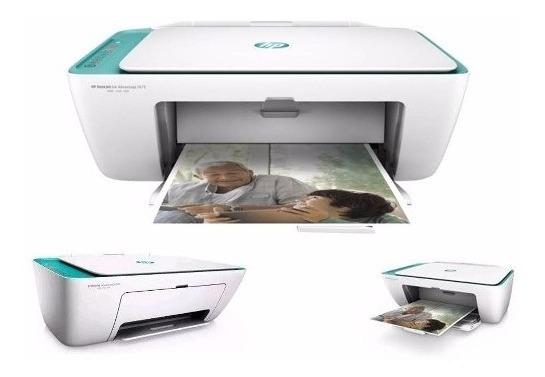 Hp Multifuncional Impresora 2675 Original 664 Wifi Bagc