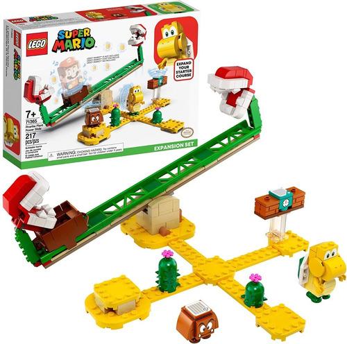 Lego Super Mario 71365 Energia Planta Carnivora 217 Piezas