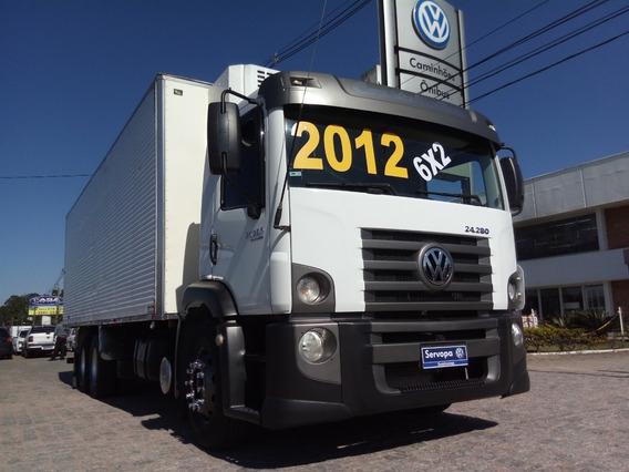 Vw 24.280 Constellation Truck Baú Frigorífico Camara Fria