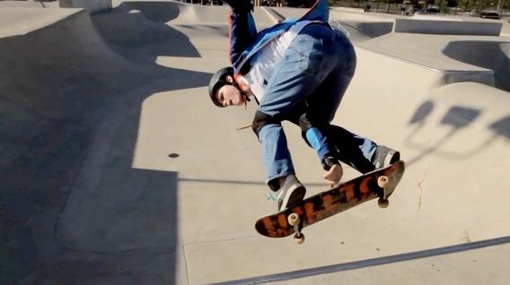 Patineta Grande Antiresbalantes Aluminio Skate Doble Cola