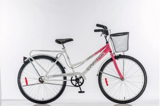 Bicicleta Dama 26 Con Canasto Futura