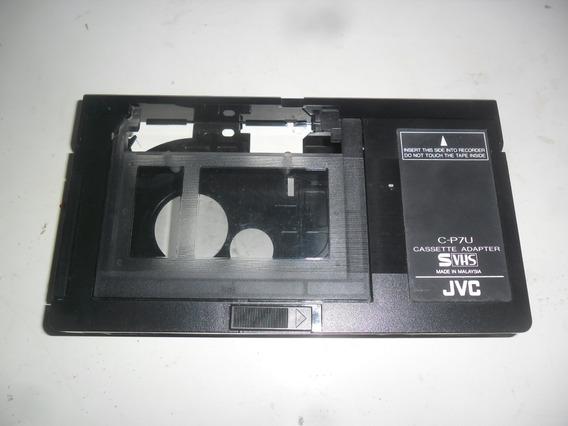 Fita Adaptador Fita Mini Para Vídeo Cassete C-p7u Jvc