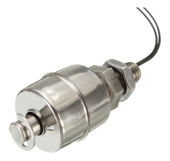Sensor De Nível Líquidos Boia Caixa Tanque Em Inox