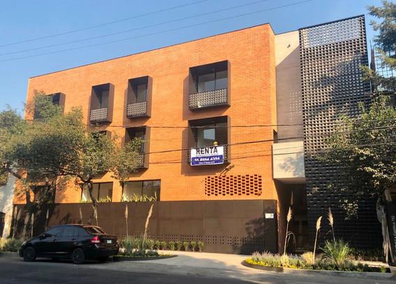 Departamentos Lujo Con Roof O Patio, 103m2, Benito Juarez
