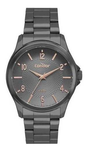 Relógio Condor Feminino Co2036mui/4c Grafite