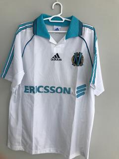 Camisa Olympique De Marselha 1998 - adidas Original Futebol
