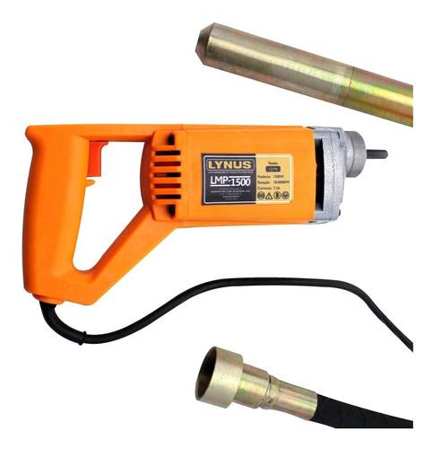 Vibrador De Concreto 1500w Monofasico Com Mangote 220v Lynus