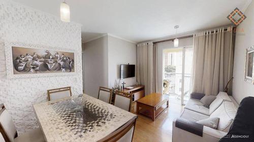 Apartamento Com 3 Dormitórios À Venda, 57 M² Por R$ 434.000,00 - Jaguaré - São Paulo/sp - Ap42602