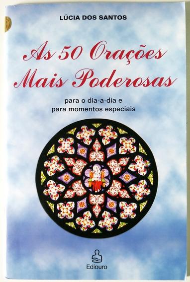 Livro As 50 Orações Mais Poderosas - Lúcia Dos Santos - Usad