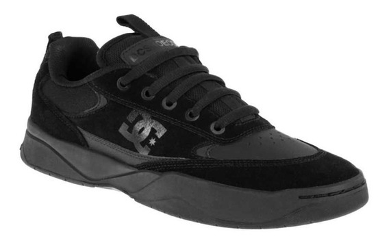 Tenis Casuales Dc Shoes Penza 9bb2 Color Negro De Piel