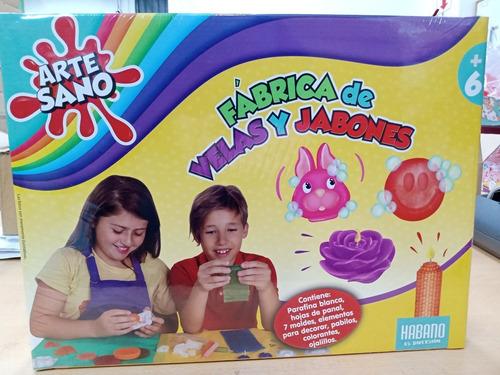Imagen 1 de 4 de Fabrica De Velas Y Jabones Artesano +6 Años Habano 6257 Edu