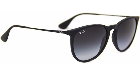 Óculos Rb4171 Ray-ban Erika Preto Original Envio Imediato