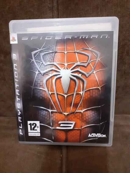 Spider Man 3 Ps3 Mídia Física