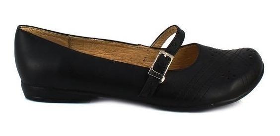Zapato Escolar Piel Negro Num 24 Mx Felipe Rentaria C55