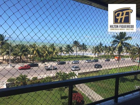 Apt Vista Para O Mar, Com 3 Dormitórios Para Alugar, 75 M² Por R$ 1.950/mês - Intermares - Cabedelo/pb - Ap5962