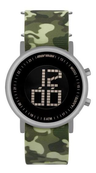 Relógio Unissex Mormaii Vibe Mobjt003ad/2v 43mm Camuflado