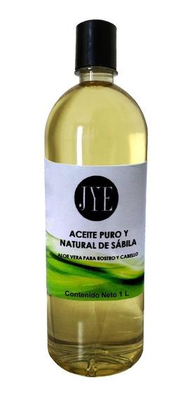 Aceite De Sábila Jye A Granel 1 Litro Puro Y De Calidad