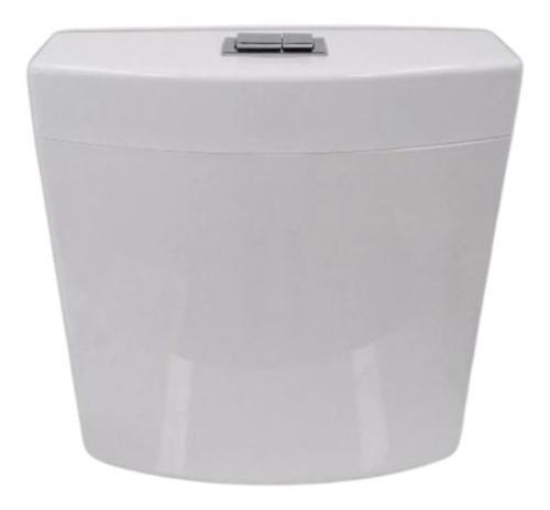 Imagen 1 de 5 de Deposito Doble Descarga Pvc De Colgar Para Inodoro
