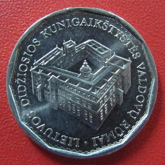 Lituania Moneda 1 Litas 2005 Unc Km 142 Palacio