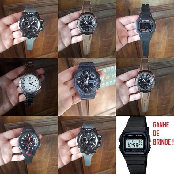 Relógio Masculino Digital Barato Borracha Resistente +brinde