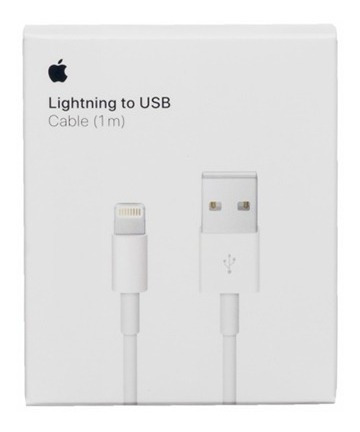 Cable Lightning Original Apple iPhone 6 7 8 iPad 2018