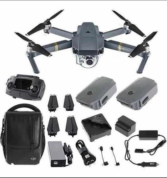 Drone Dji Mavic Pro Combo Fly More + Nota Fiscal, 12xs/juros