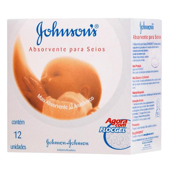 Absorvente Para Seios - 12 Unidades - Johnson & Johnson