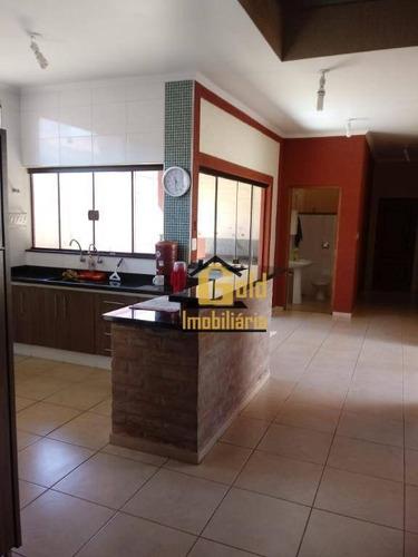 Casa Com 3 Dormitórios À Venda, 182 M² Por R$ 630.000,00 - Jardim Califórnia - Ribeirão Preto/sp - Ca0871