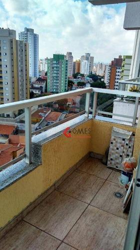 Apartamento Com 3 Dormitórios À Venda, 84 M² Por R$ 450.000,00 - Vila Bela Vista - Santo André/sp - Ap1869