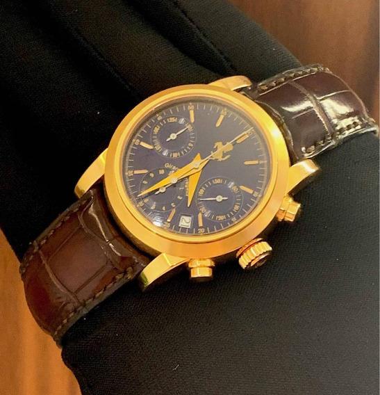 Girard Perregaux Ferrari Chronograph De Ouro Rosa , Completo