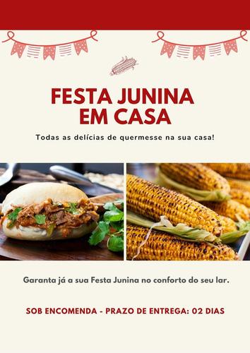 Cestas De Festa Junina - Delícias De Quermesse