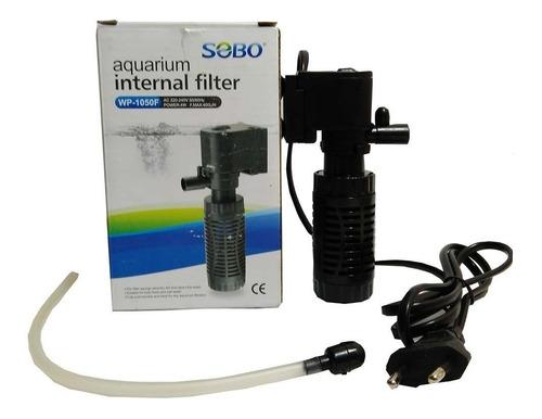 Filtro Interno Para Acuario Sobo Wp-1050f 400l/h